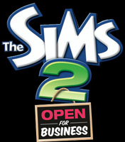 Logo of The Sims 2: Open For Business (PC)