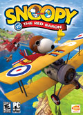 US Boxshot of Snoopy vs The Red Baron (PC)