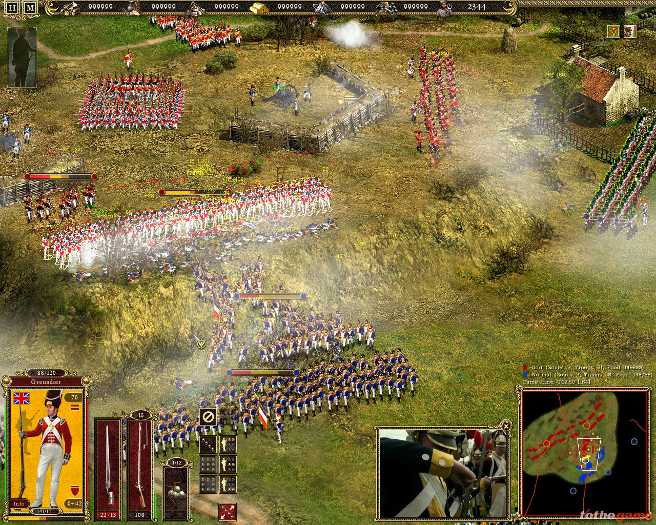 screen1 large Cossacks II: Battle for Europe PC Download