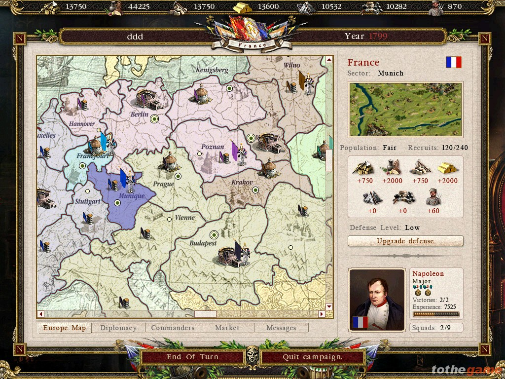 screen3 large Cossacks II: Battle for Europe PC Download