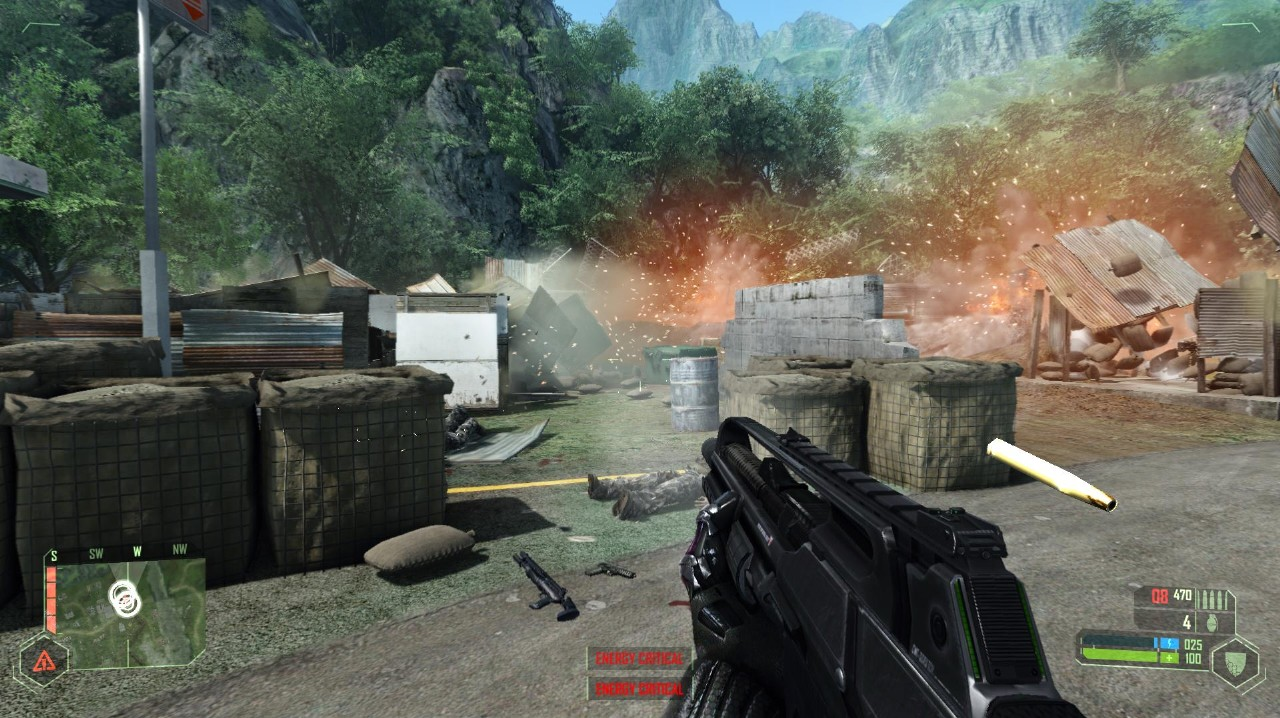 Screenshot of Crysis (PC)