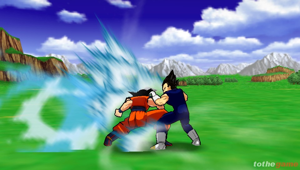 Screenshot of Dragon Ball Z: Shin Budokai (PSP)
