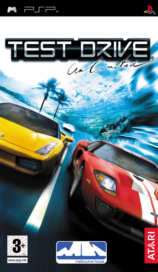 Boxshot of Test Drive Unlimited (PSP)