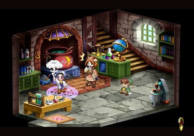Screenshot of Atelier Iris 2: The Azoth of Destiny (PS2)