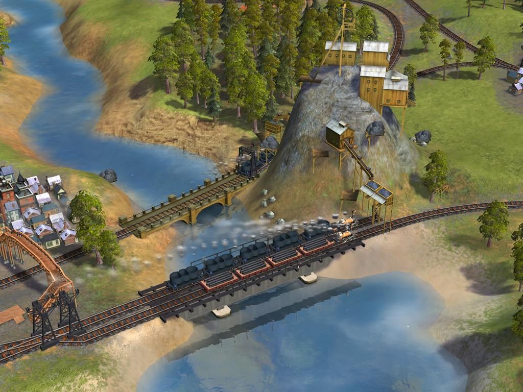 screen1 large Sid Meiers Railroads Full PC Free Download