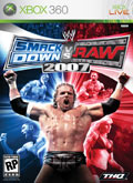 US Boxshot of WWE SmackDown! vs. RAW 2007 (XBOX360)