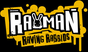 Logo of Rayman: Raving Rabbids (PS2)