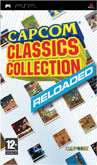 UK Boxshot of Capcom Classics Collection Reloaded (PSP)