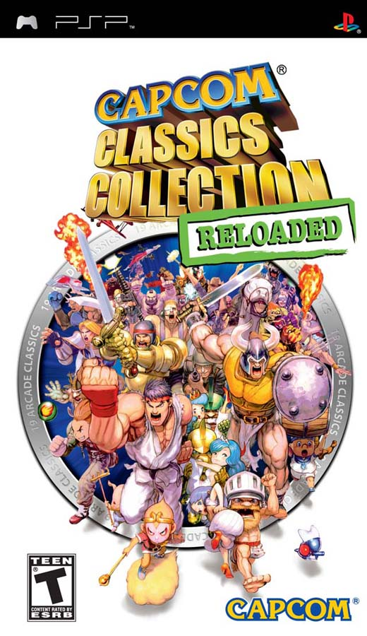PSP   Capcom Classics Collection Reloaded USA BADR1X preview 0