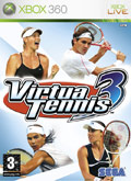 UK Boxshot of Virtua Tennis 3 (XBOX360)