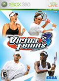 US Boxshot of Virtua Tennis 3 (XBOX360)