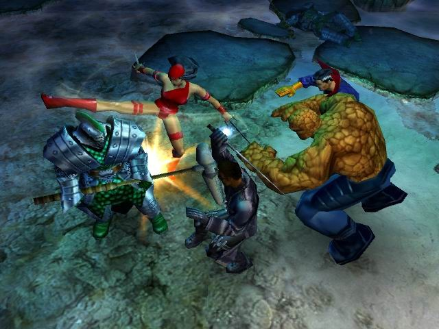 Screens Zimmer 2 angezeig: marvel ultimate alliance ps2