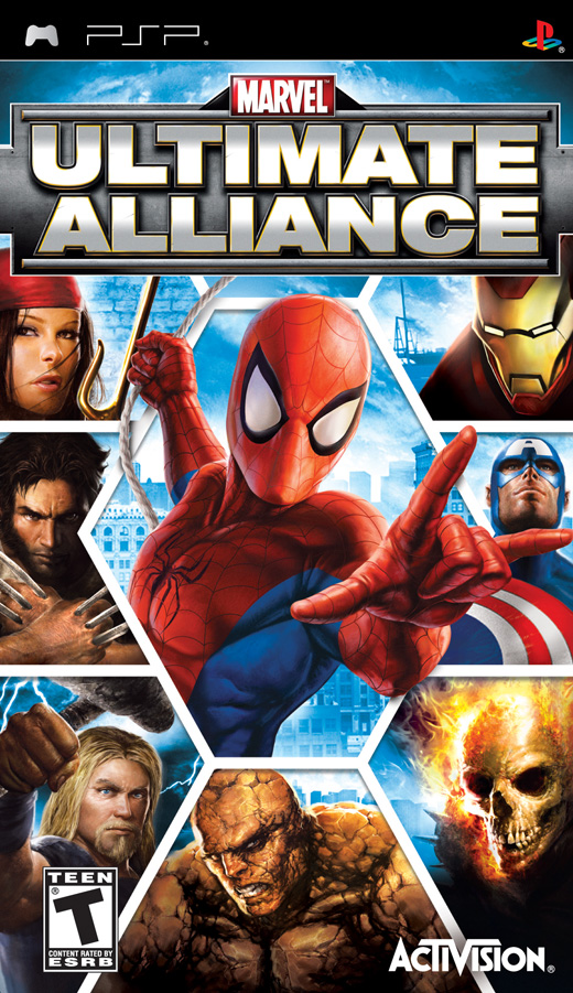 Marvel Ultimate Alliance English UMDRIPBADR1X preview 0