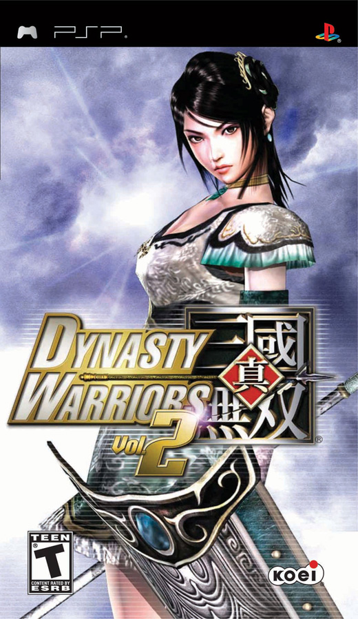 PSP   Dynasty Warriors Vol 2 USA EnglishBADR1X preview 0