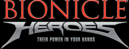 Logo of Bionicle Heroes (GAMECUBE)