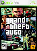 UK Boxshot of Grand Theft Auto IV (XBOX360)