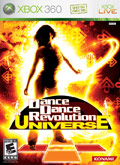 US Boxshot of Dancing Stage Universe (XBOX360)