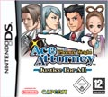 UK Boxshot of Phoenix Wright: Ace Attorney - Justice For All (DS)