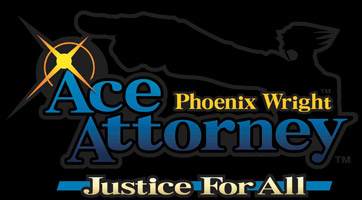 Logo of Phoenix Wright: Ace Attorney - Justice For All (DS)