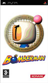 UK Boxshot of Bomberman (PSP)