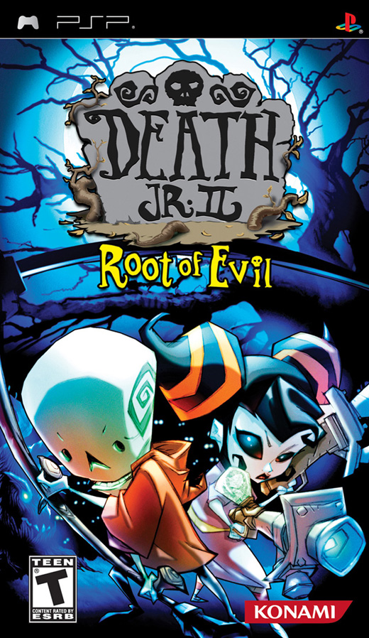PSP   Death Jr II Root Of Evil USA English BADR1X preview 0