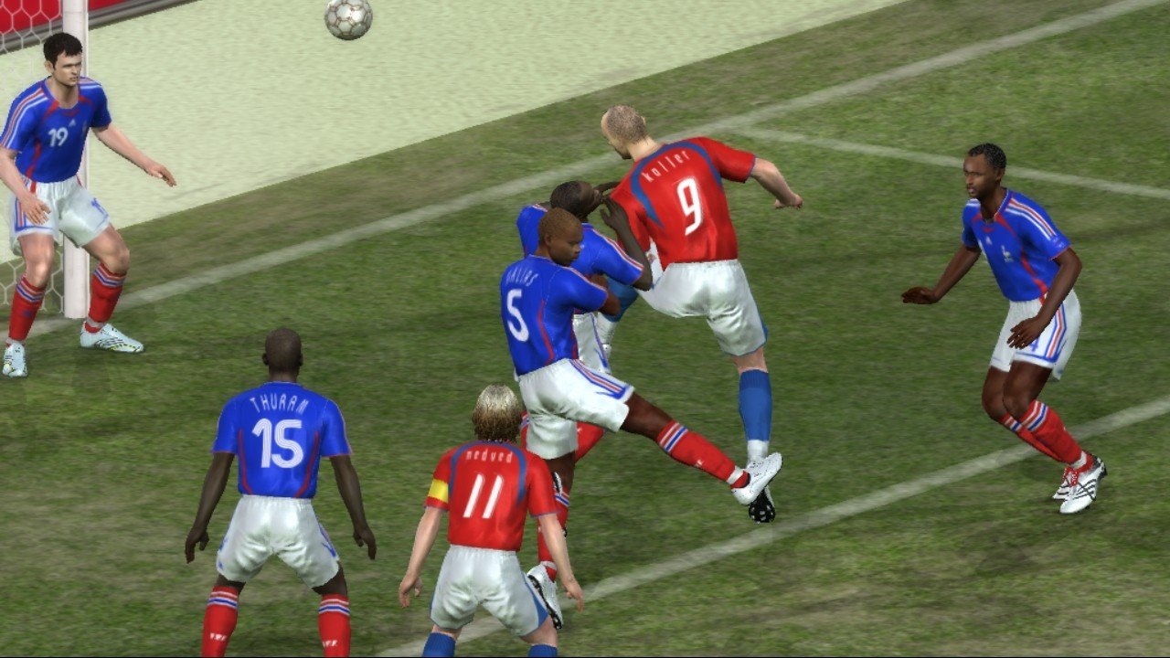 screen1 large [FULL GAME] Pro Evolution Soccer 6 [PC]