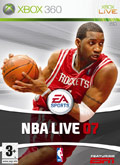 UK Boxshot of NBA Live 07 (XBOX360)