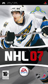UK Boxshot of NHL 07 (PSP)