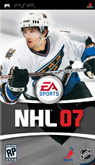 US Boxshot of NHL 07 (PSP)