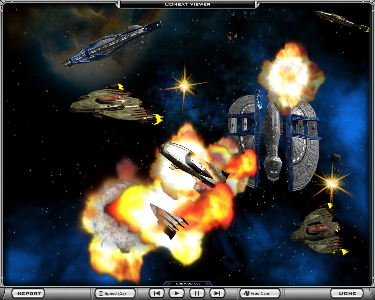 Screenshot of Galactic Civilizations II: Dark Avatar (PC)