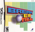 US Boxshot of Break'em All (DS)