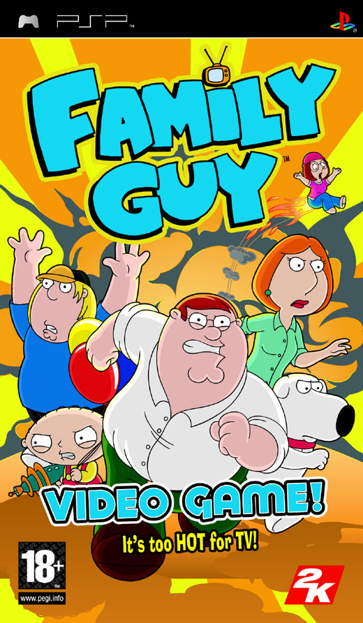 Family Guy PSP ISO/CSO