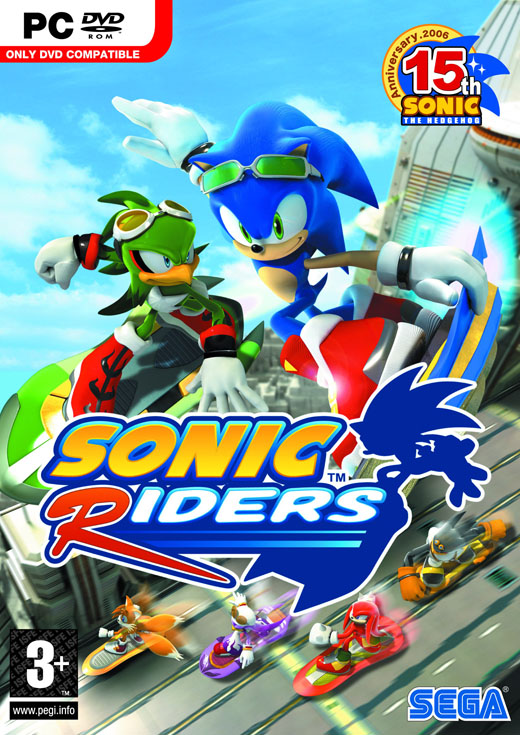 Sonic Riders FULL / ����� ������� ������ ������ [1.0][ENG / RUS] (2011)