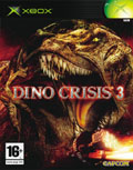 UK Boxshot of Dino Crisis 3 (XBOX)