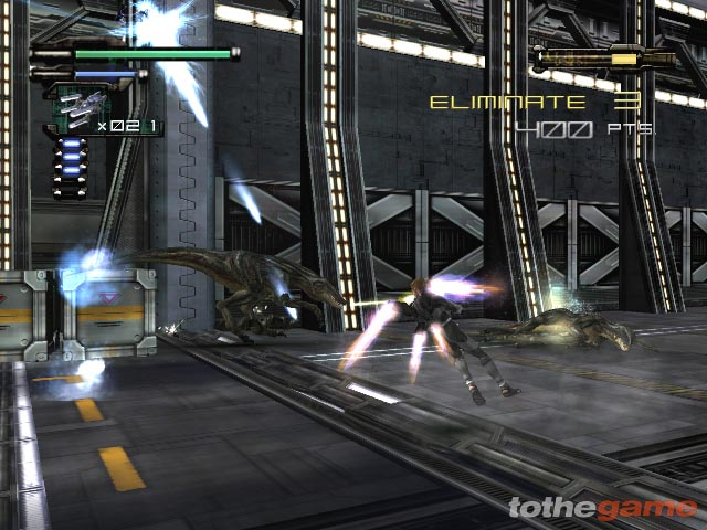 Screenshot of Dino Crisis 3 (XBOX)