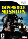 UK Boxshot of Impossible Mission (NINTENDO Wii)
