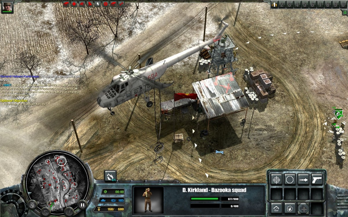 Screenshot of Codename Panzers: Cold War (PC)