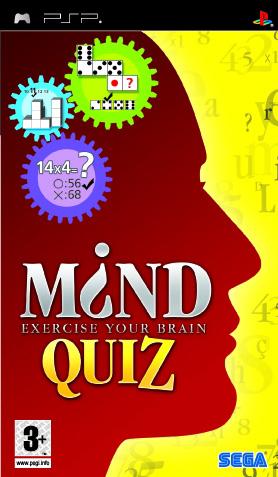 PSP   Mind Quiz USA English BADR1X preview 0