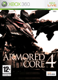 UK Boxshot of Armored Core 4 (XBOX360)