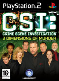 UK Boxshot of CSI: 3 Dimensions of Murder (PS2)