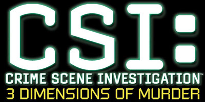 Logo of CSI: 3 Dimensions of Murder (PS2)