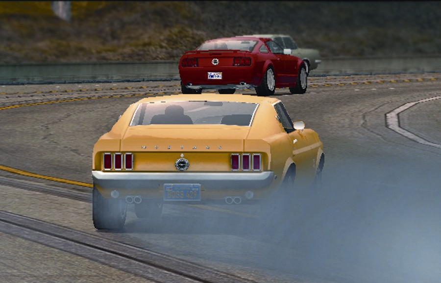 Screenshot of Ford Mustang: The Legend Lives (XBOX)