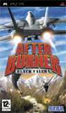 UK Boxshot of After Burner: Black Falcon (PSP)