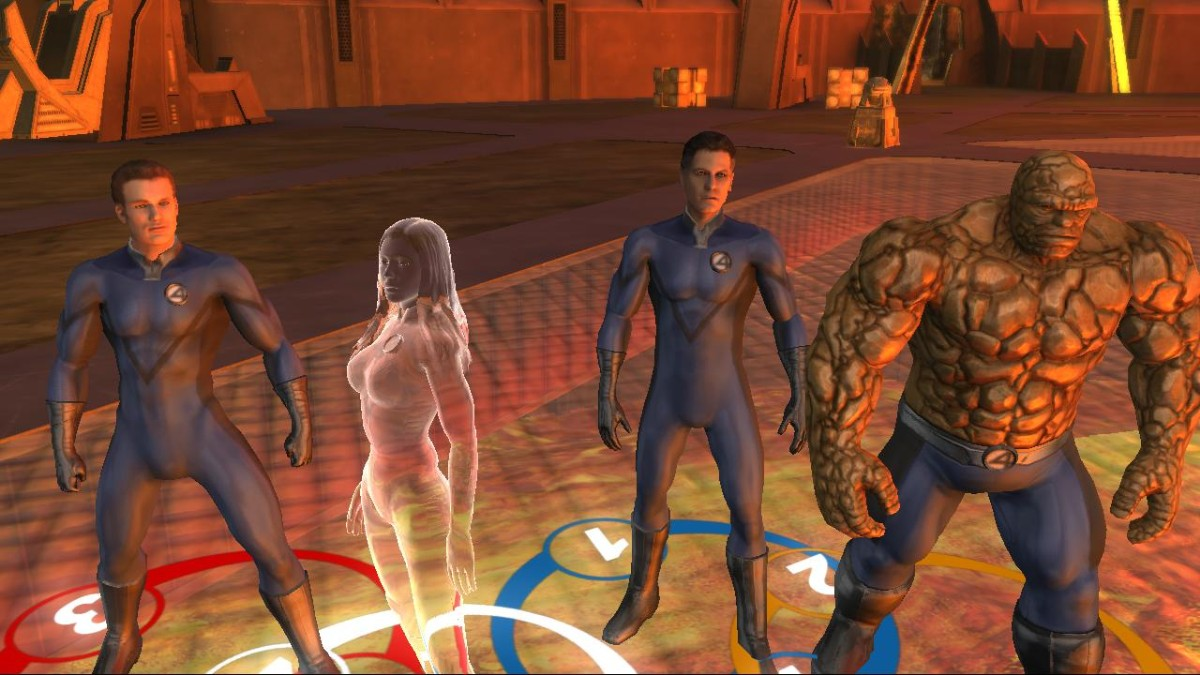 Screenshot of Fantastic 4: Rise of the Silver Surfer (PS3)