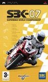 UK Boxshot of SBK-07: Superbike World Championship (PSP)