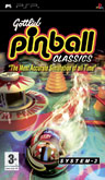 UK Boxshot of Gottlieb Pinball Classics (PSP)
