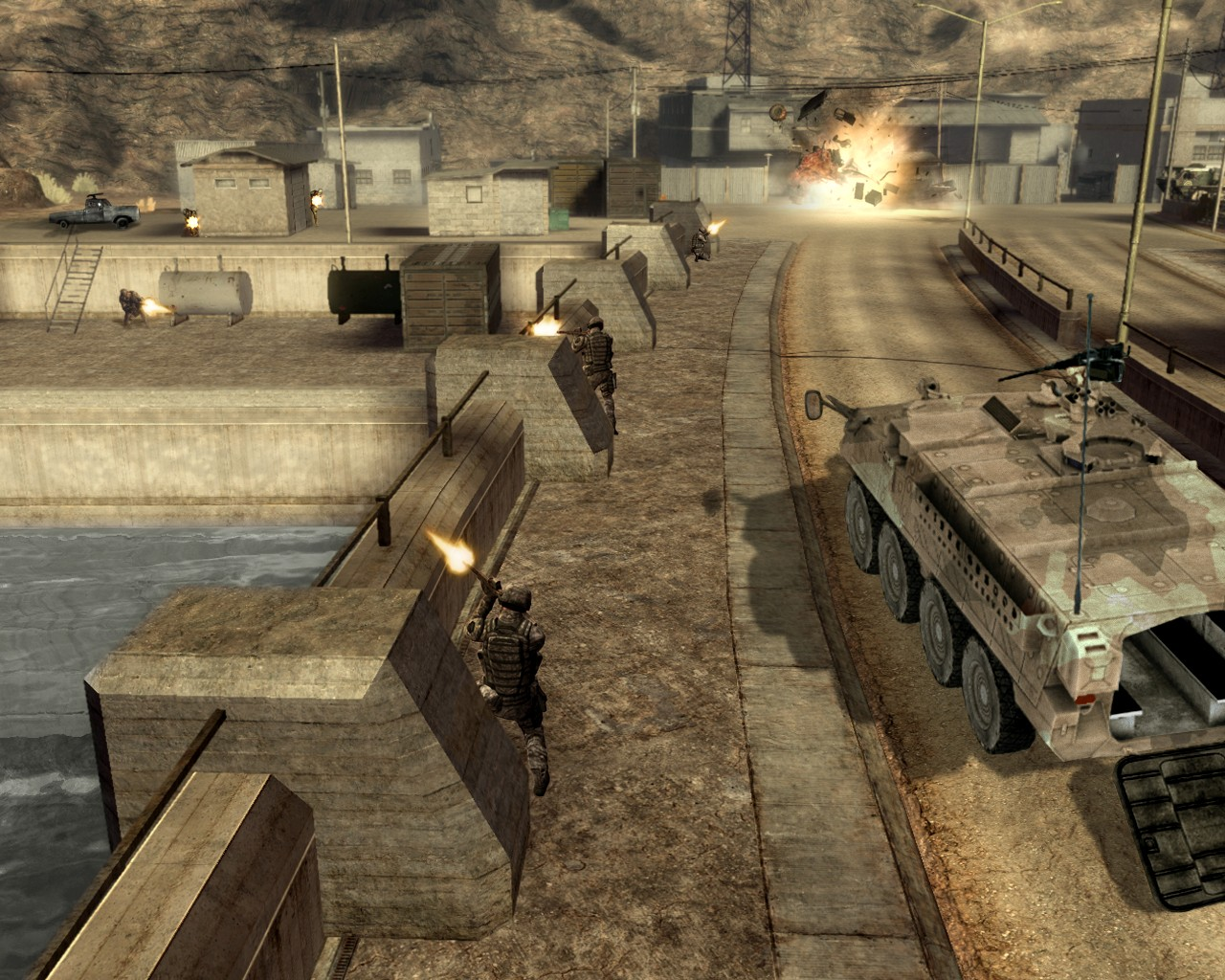 screen1 large Ghost Recon Advanced Warfighter 2 Download Full Game