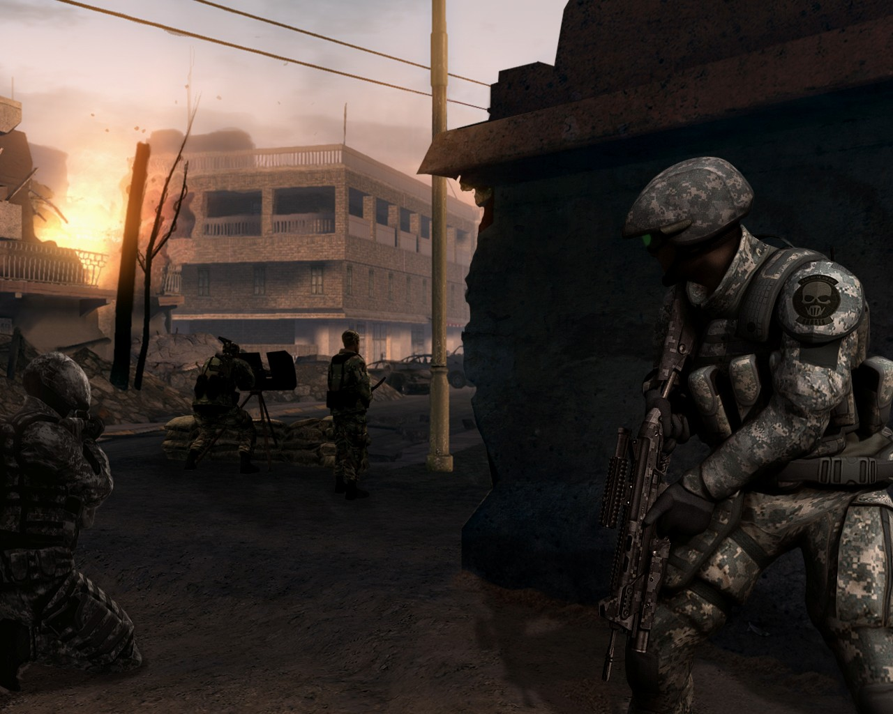 screen2 large Ghost Recon Advanced Warfighter 2 Download Full Game