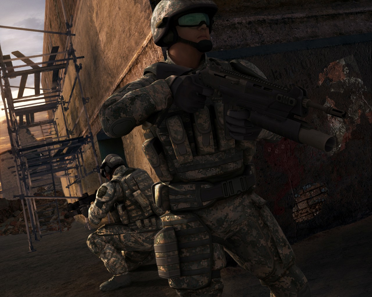 screen3 large Ghost Recon Advanced Warfighter 2 Download Full Game