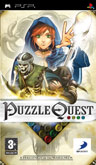 UK Boxshot of Puzzle Quest: Challenge of the Warlords (PSP)
